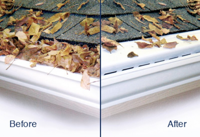 Leaf Guard Gutters